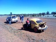 Car 14 T15 Lost oil pressure . Checking.