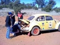 Car 14 Dropping oil pressure