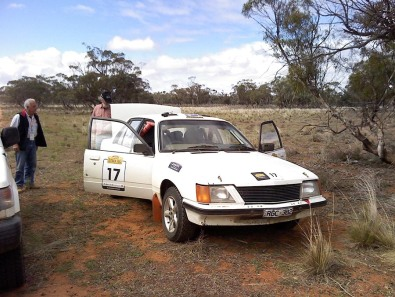 Car 17 45.6km SS24 gearbox tow to end