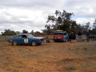 Car 10 out for the rest of the event going home retired at lunch gearbox