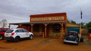 Silverton Hotel - this is Mad Max country... The SLM crews wont get out here unfortunately.