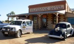 Nissan Pathfinder, at the iconic SIlverton Hotel during the 2012 COT survey.