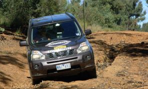 Nissan X-Trail during an event survey on the 2009 COT