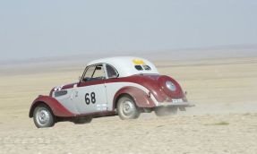 David and Sarah Rayner competed in the Peking to Paris in this 1938 BMW.