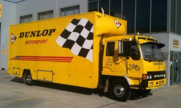 Gar's Motorsport Tyres rally service truck will be at 2014 COT service points