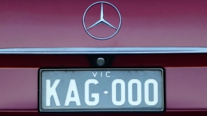 KAG 000 number plate