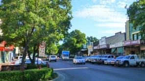Main street of Parkes