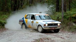 2nd OR: Steve Ashton and Ro Nixon, 1972 Mitsubishi Colt Galant