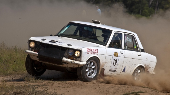 1st OR: Andrew and David Travis, 1972 Datsun 1600