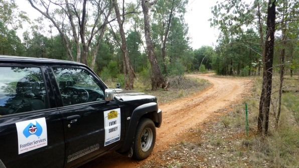 The prologue - a 12 k forest stage near Parkes.