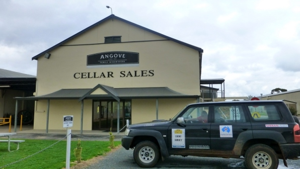 Finish of the 2014 Classic Outback Trial will be at the Angove Family Winemakers Cellar door.