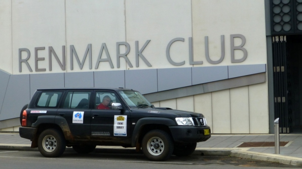The 2014 Classic Outback Trial presentation dinner will be at the Renmark Club.
