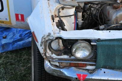 Sawyer's Datsun 1600 - looking for headlights...