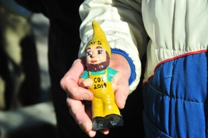 The day 5 COT gnome, awarded for winning the day