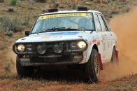Williamson/Batt in the Frontier Services Datsun