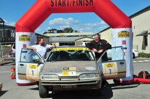 Matt Swan and Paul Franklin - second outright