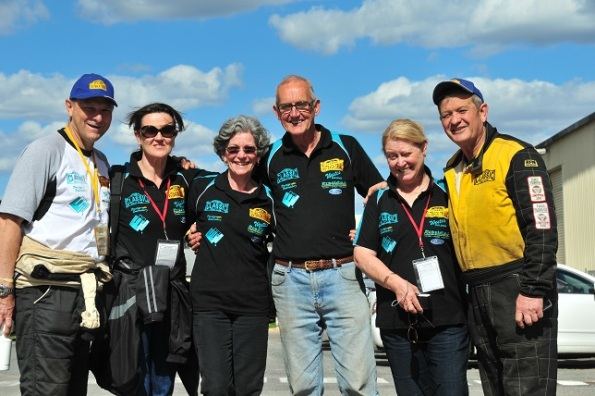 The Cooper/Warner team from the Classic Rally Club