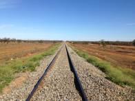 The Perth railway line
