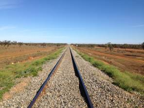 The Perth railway line