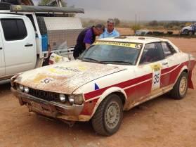 Car 35 - seized motor SS21
