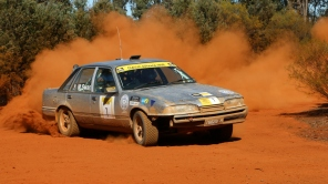 2nd OR: Matt Swan and Paul Franklin, 1987 Holden Commodore VL