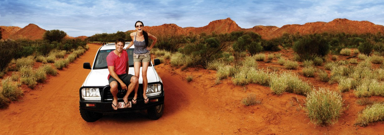 Tourism NT - Road Trip, Gosse Bluff