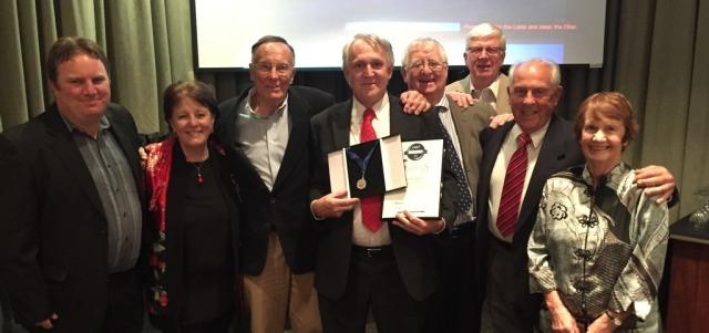 COT team at the awards