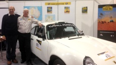 pic of Francis Tuthill and Philip Bernadou at Race Retro