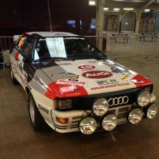 Audi quattro at Race Retro