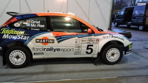 WRC winning Focus