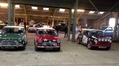 Three minis at Race Retro