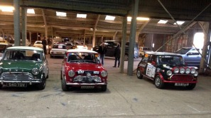 Three minis at Race Retro