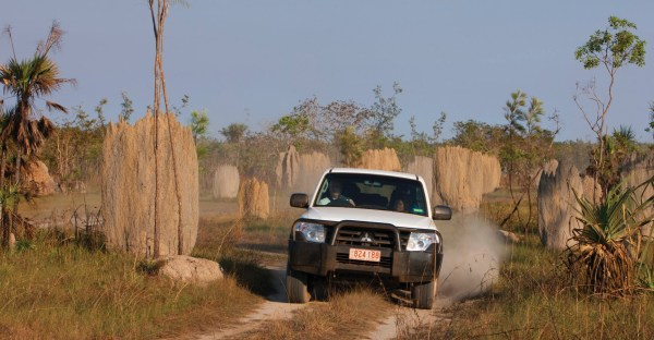 A modern SUV can be used in Classic Outback Regularity