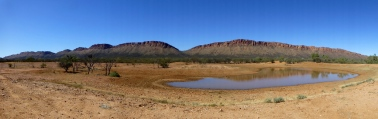 part of the MacDonnell Ranges