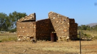 Pic of The original Old Ambalindum homestead, which is a ruins.