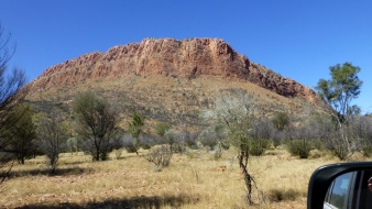 Georgina Range, east of Alice Springs