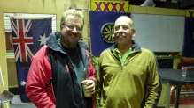 Our hosts at the Central Australian Rally Sport Club - Chris (L) and Phil - President and Vice-President.