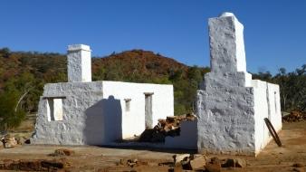 The old Owen Springs homestead