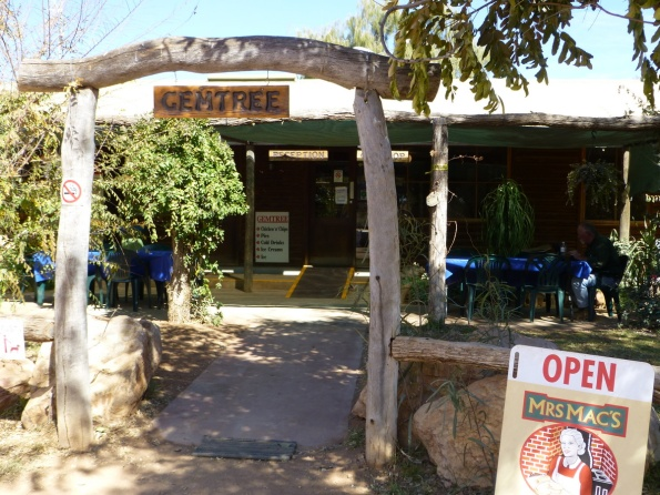 The gateway into the Gem Tree roadhouse