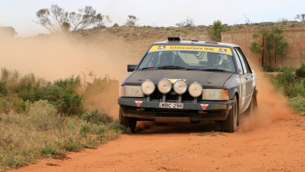 Another great shot from COT 2014 - this one on day 4 on the way into Broken Hill