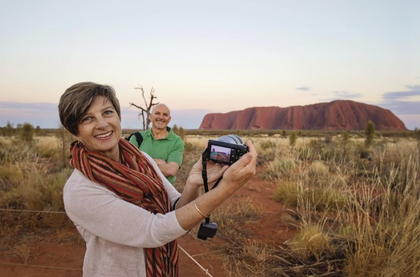 Plan a holiday at Uluru - we are! Pic from Tourism NT