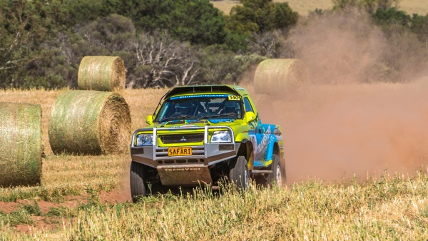 Warren Denham's Triton will compete in Classic Outback Cross Country