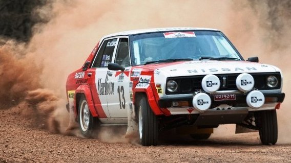 Justyn Snooks Datsun Stanza Lasseters Classic Outback Trial