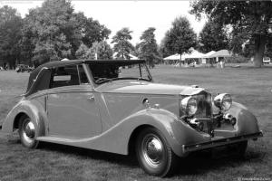 A 1934 Railton, similar to the car the Macwhirters are preparing for COT 2016. Image courtesy conceptcarz.com