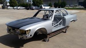 Stuart Bowes' Mercedes 450 SLC