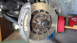 Giant AP Racing brakes are a must