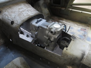 Holinger gearbox fits like a treat