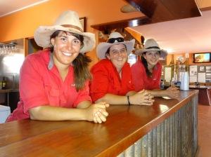 Cameleers: Sam, Zoe & Rach