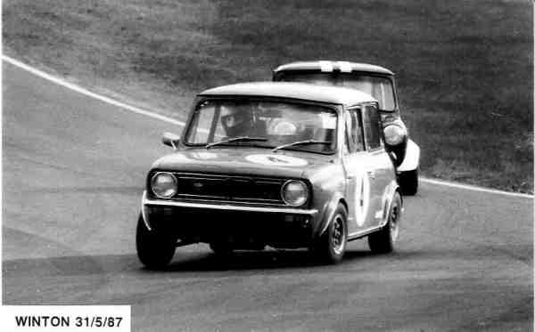Alan has  thing for Minis... here at Winton.