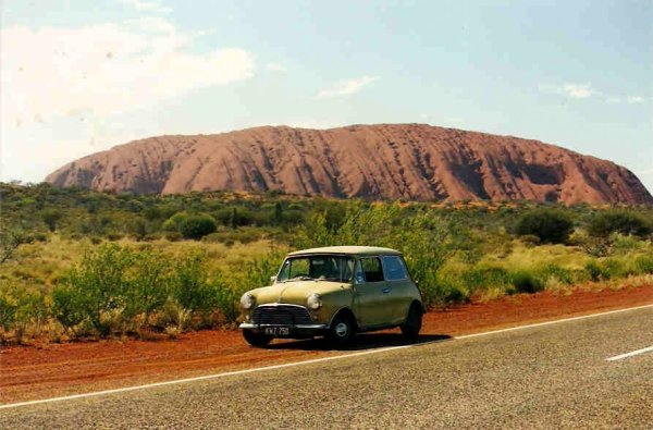 The Mini K at Uluru